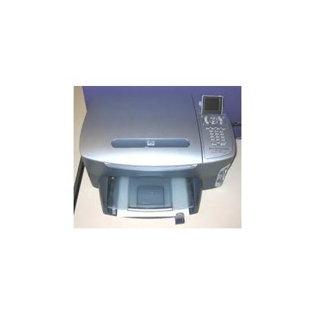 چاپگر دست دوم چهارکاره جوهرافشان(با جوهر شارژ شده) hp psc 2410