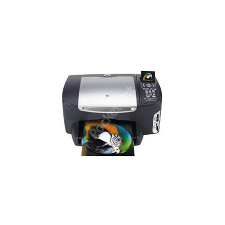 چاپگر دست دوم چهارکاره جوهرافشان(با جوهر شارژ شده) hp psc 2510