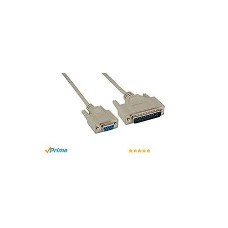 کابل سریال ودستگاه های شابه cable pr4sl 9to 25