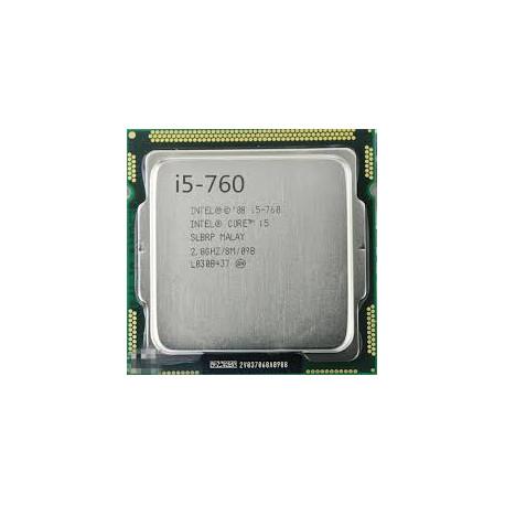 پردازنده دست دوم cpu intel i5 760 2.8ghz 8m cache