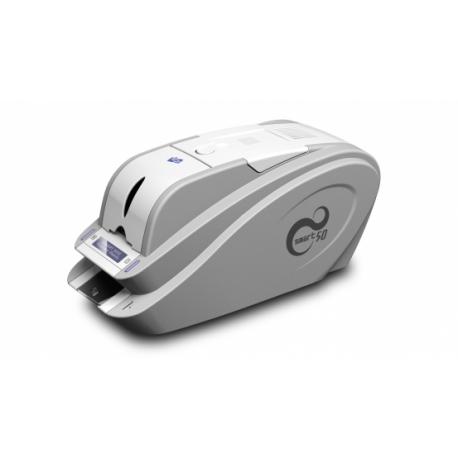 کارت پرینت آکبند idp smart 50s card printer