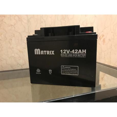 باطری آکبند matrix12v/42a