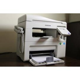چاپگر دست دوم چهارکاره لیزری samsung SCX-4655HN